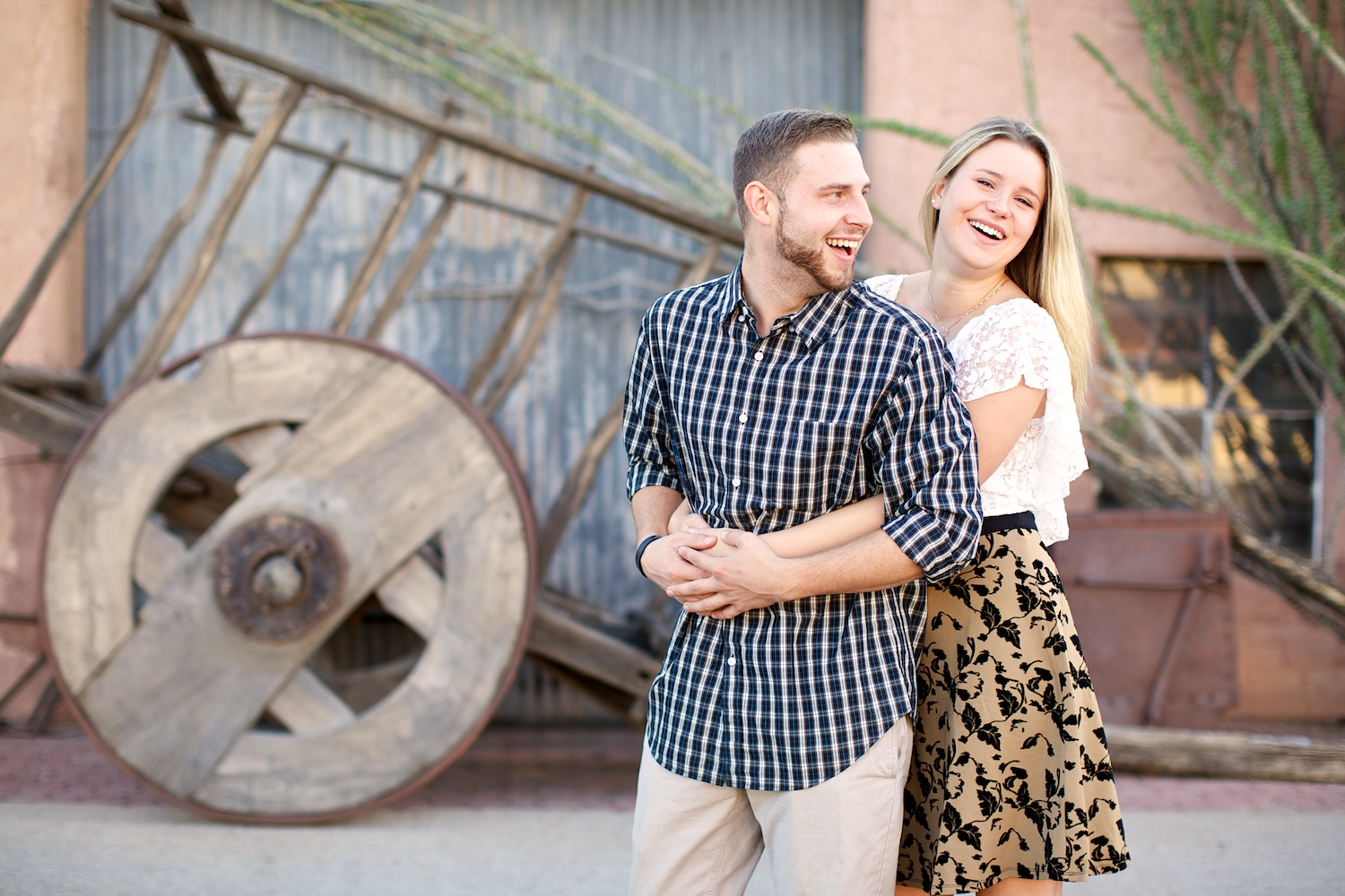 Rustic backdrop @ Old Town Scottsdale