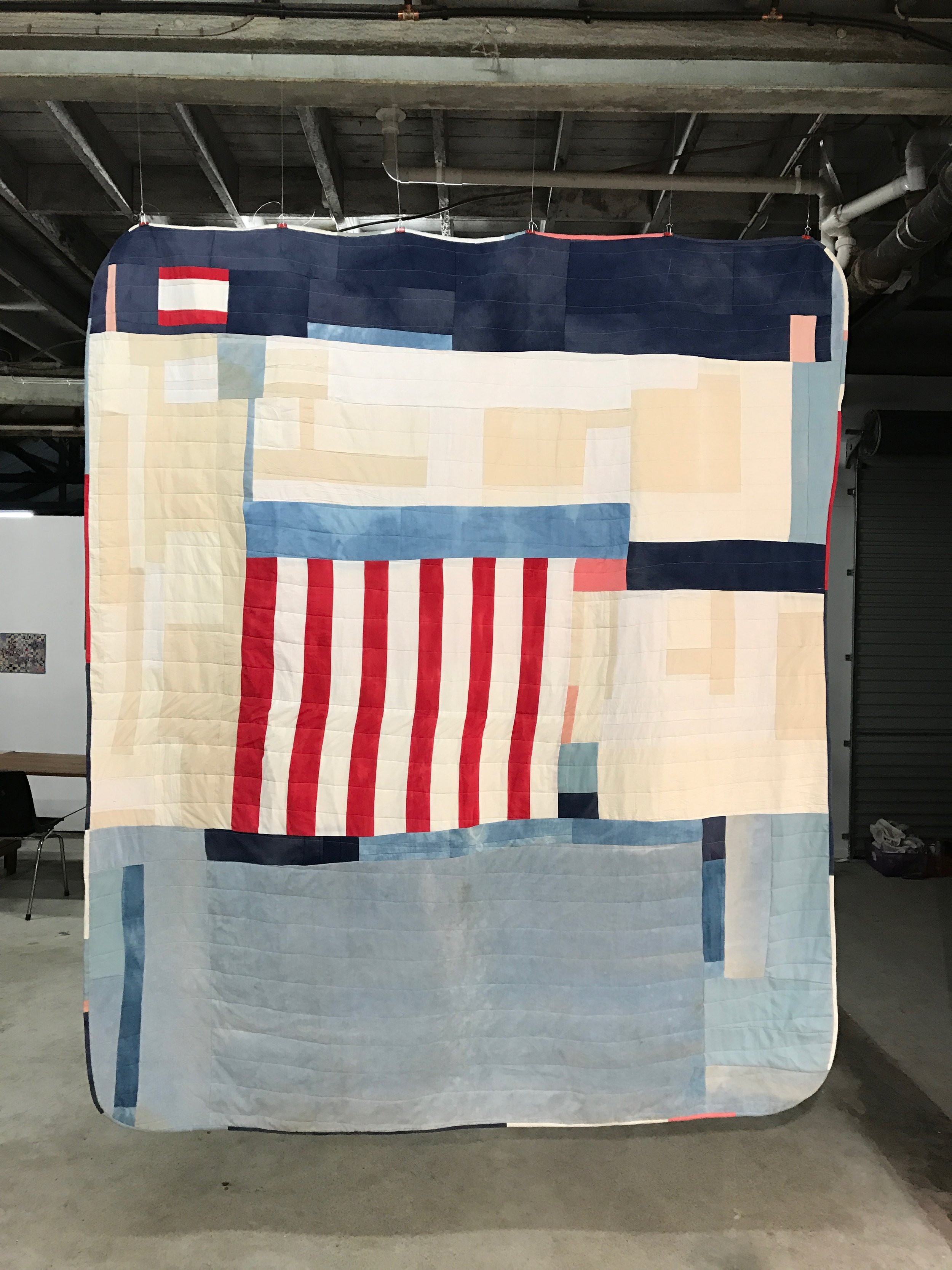 Sarah Harvey Quilt for Wall to Wall