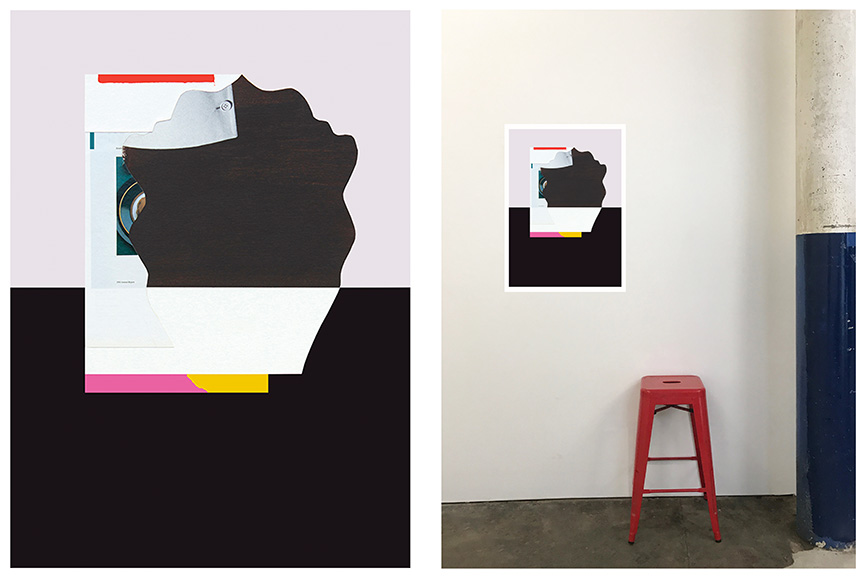 DIANA MILLER,  Over Under,  digital print on Rag paper, Edition of 7, 70 x 50 cm $250 each, unframed.  (Still available)