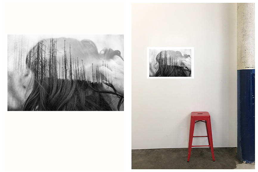 Greer Versteeg,  Wildfires, Grand-Jardins,  digital print on rag paper, Edition of 7, 50 x 70 cm $250 each, unframed.  (Still available)