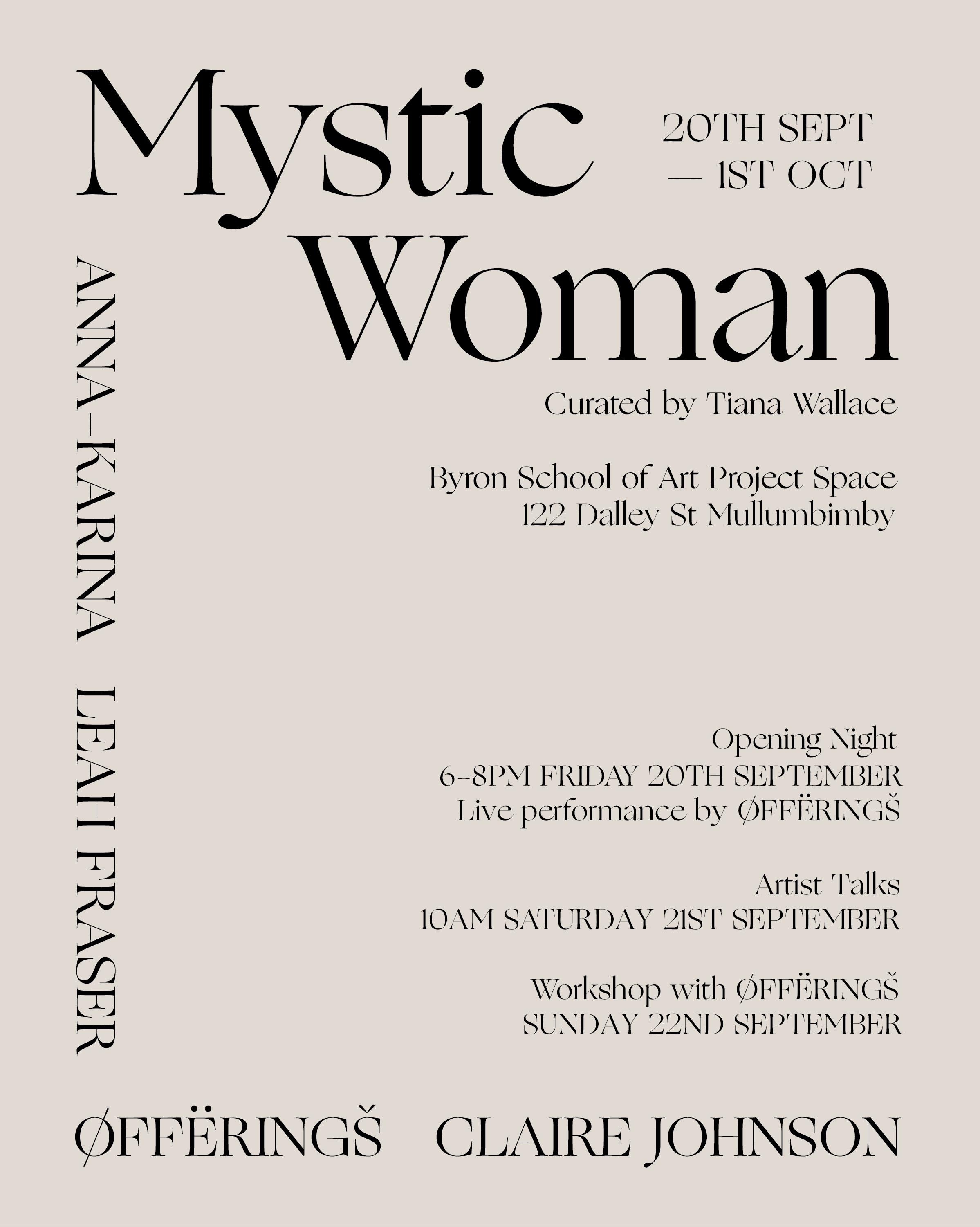 Mystic WOman POster.png
