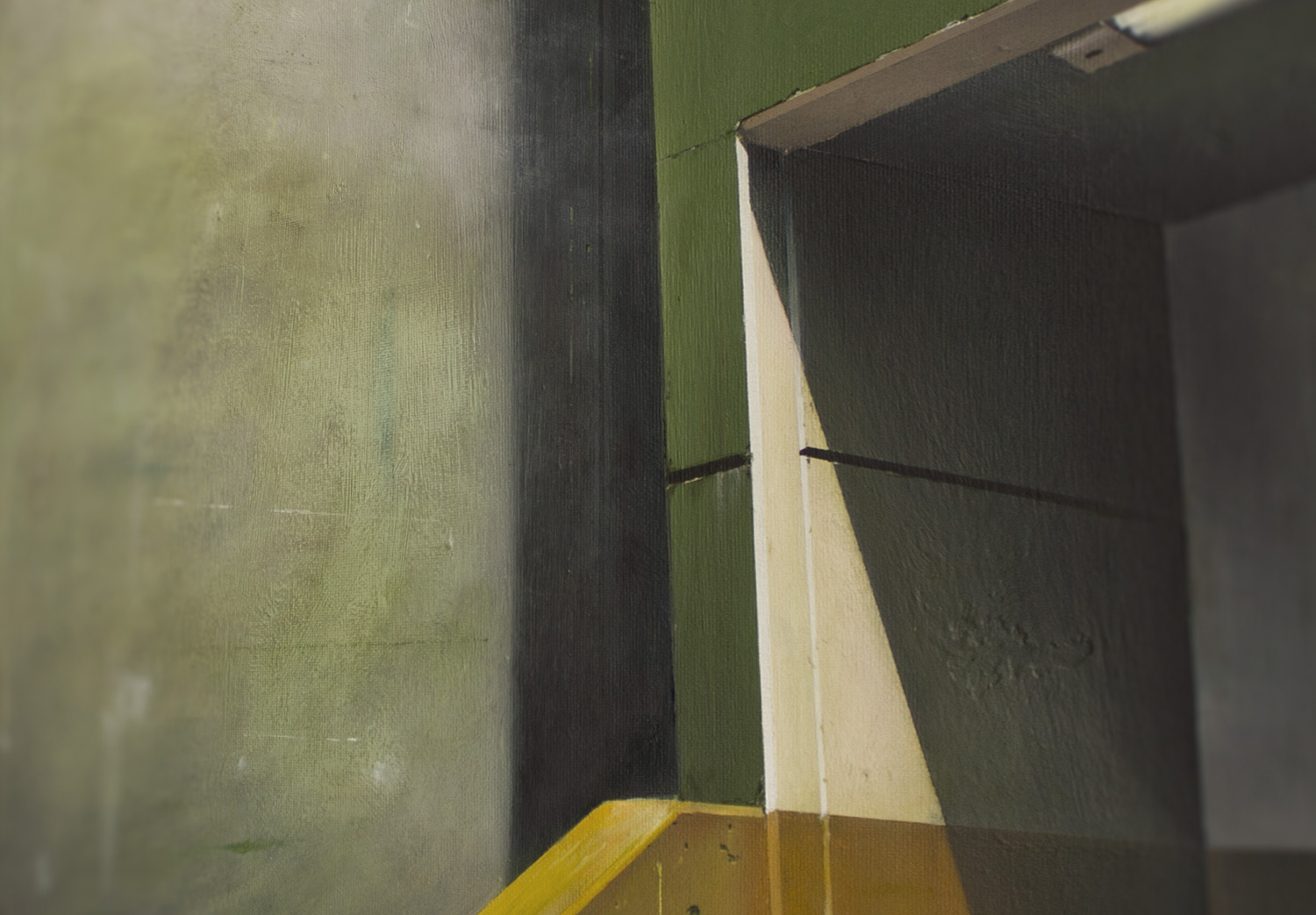 'Wall #1' Oil Painting