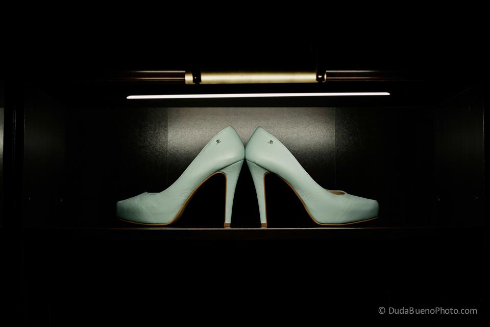 Zapatos de la novia usado en una Boda en Barcelona