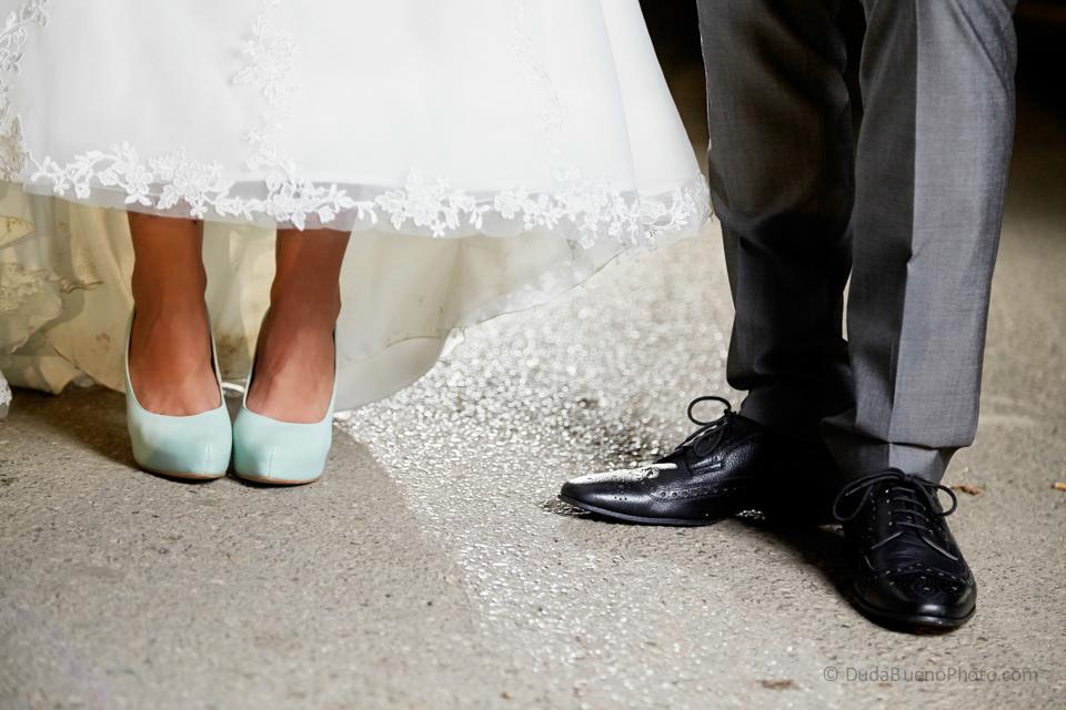 zapatos de los novios