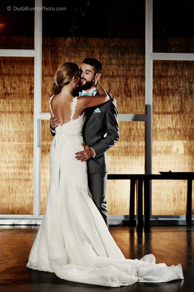El primer baile de los novios en la boda