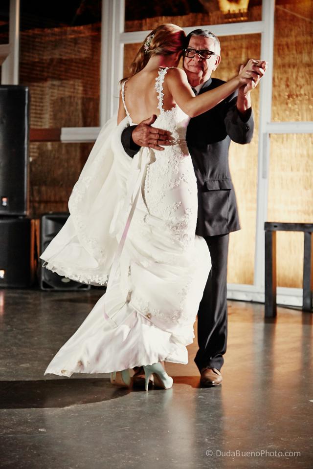 primer baile de la Novia y su padre en la boda