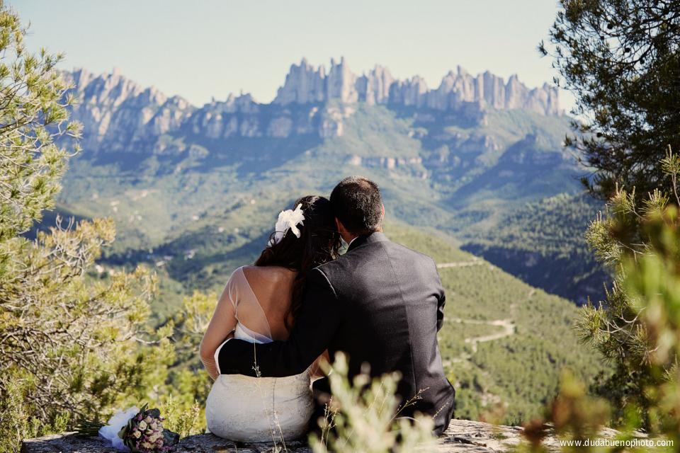 Post boda en Montserrat