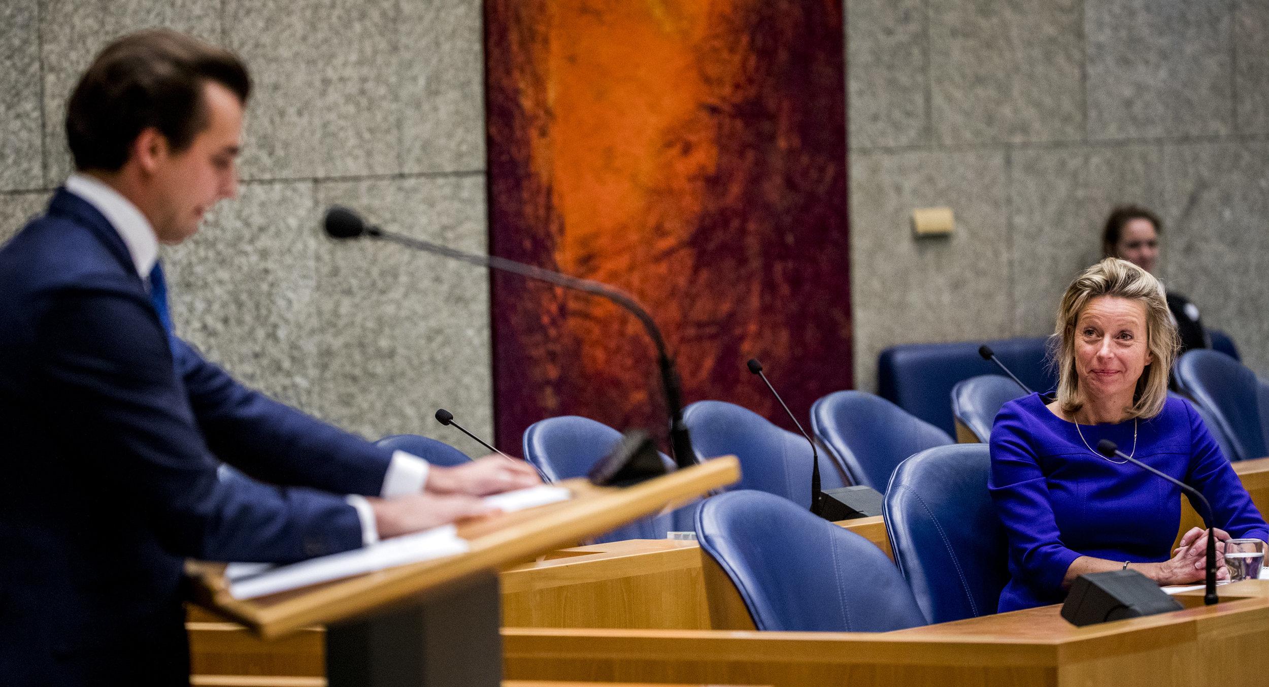 Baudet verwijt Ollongren de democratie te hebben vermoord (Elsevier Weekblad/ANP)