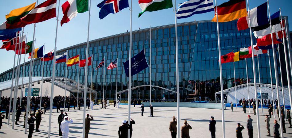Het nieuwe NAVO hoofdkwartier in Brussel (bron: dpa)