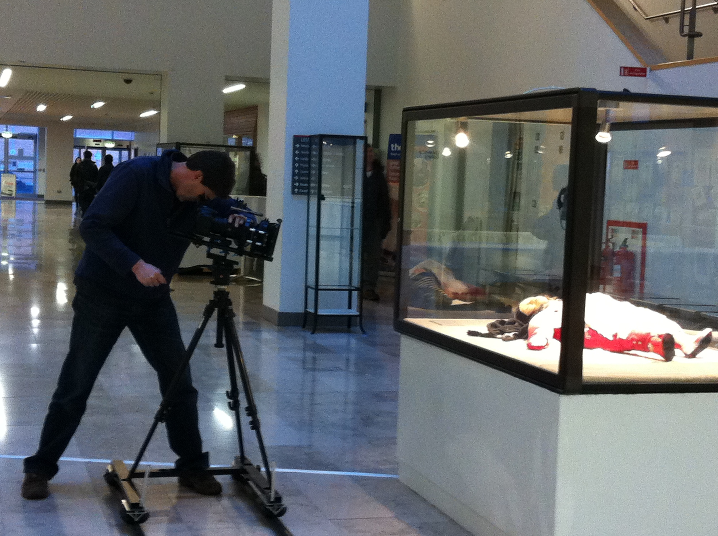 Filming of the video.