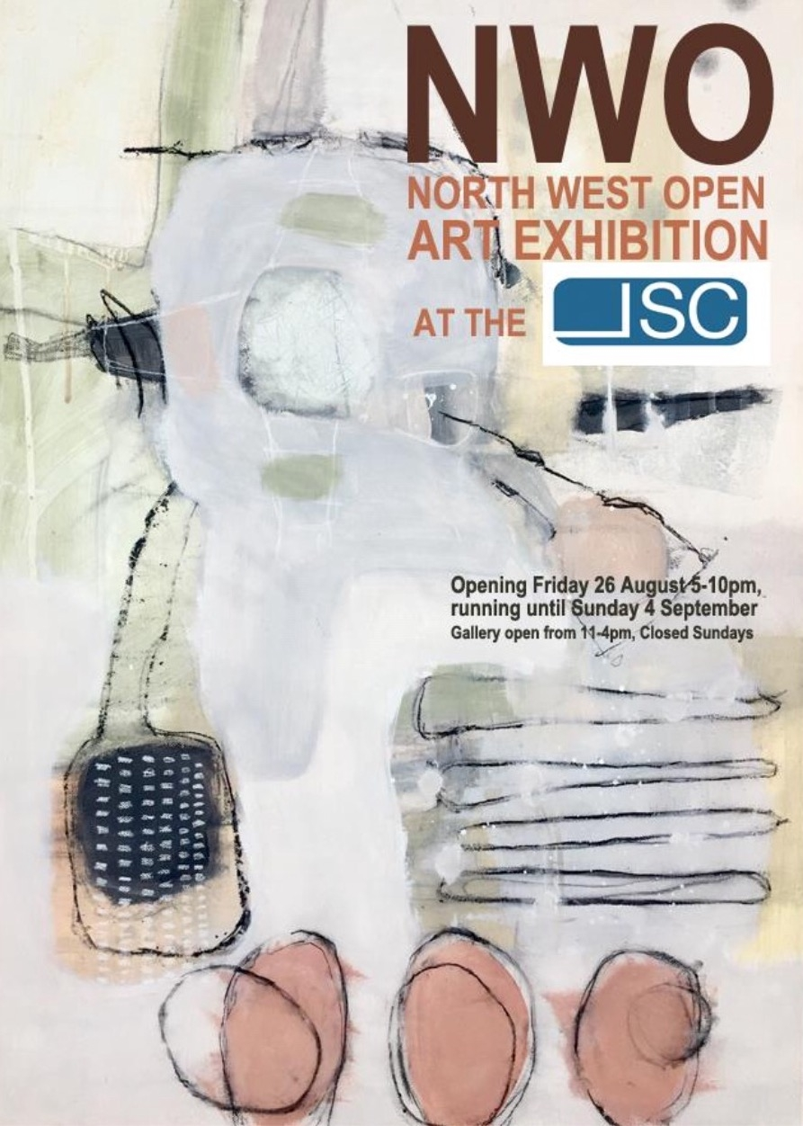Two of my paintings were selected for the North West Open Art Exhibition with 'Bat the Breeze' chosen for the visual of the shows literature. The Exhibition runs until and including Saturday 3rd September 2016.