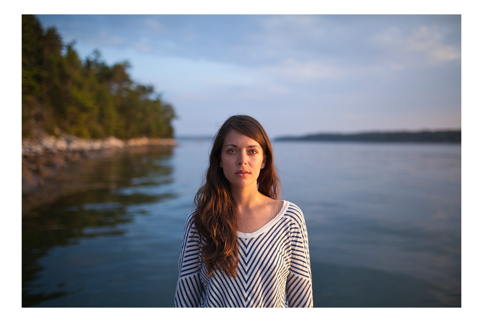 Meggan. West Bath, Maine