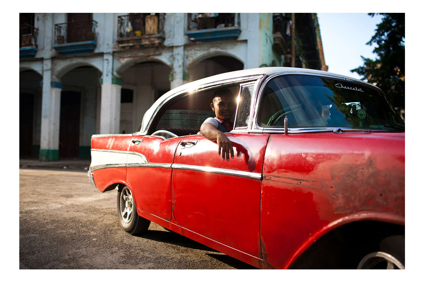 American Classic on Streets of Havana. Cuba