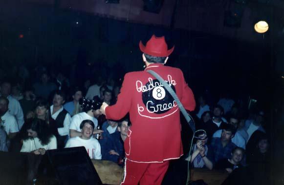 Greg Reece live in Athens Ga. Photo via redneckgreece.com