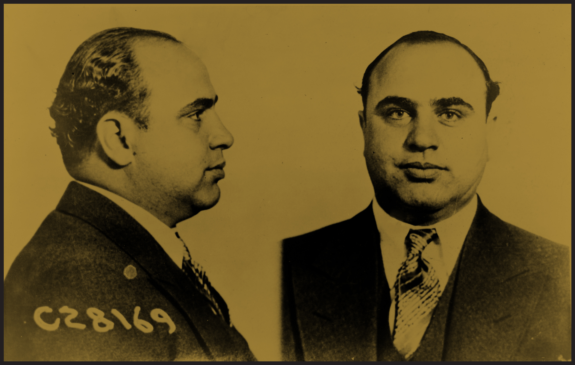The man himself — Al Capone.