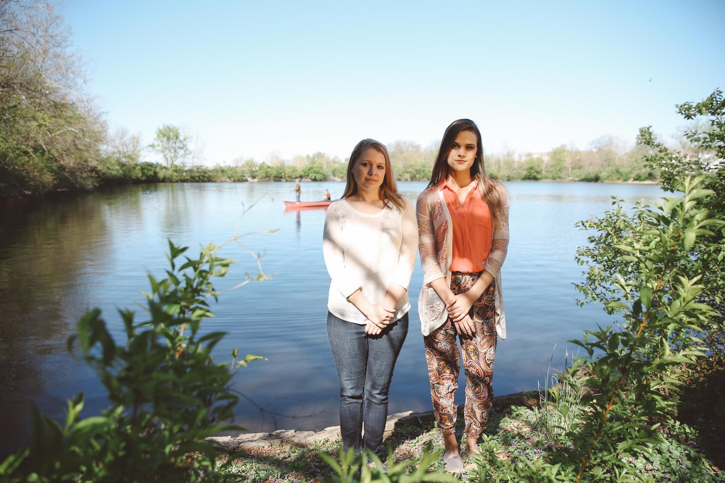 Alyssa Erickson and Kirsten Bohnert, the Kentucky Hempsters