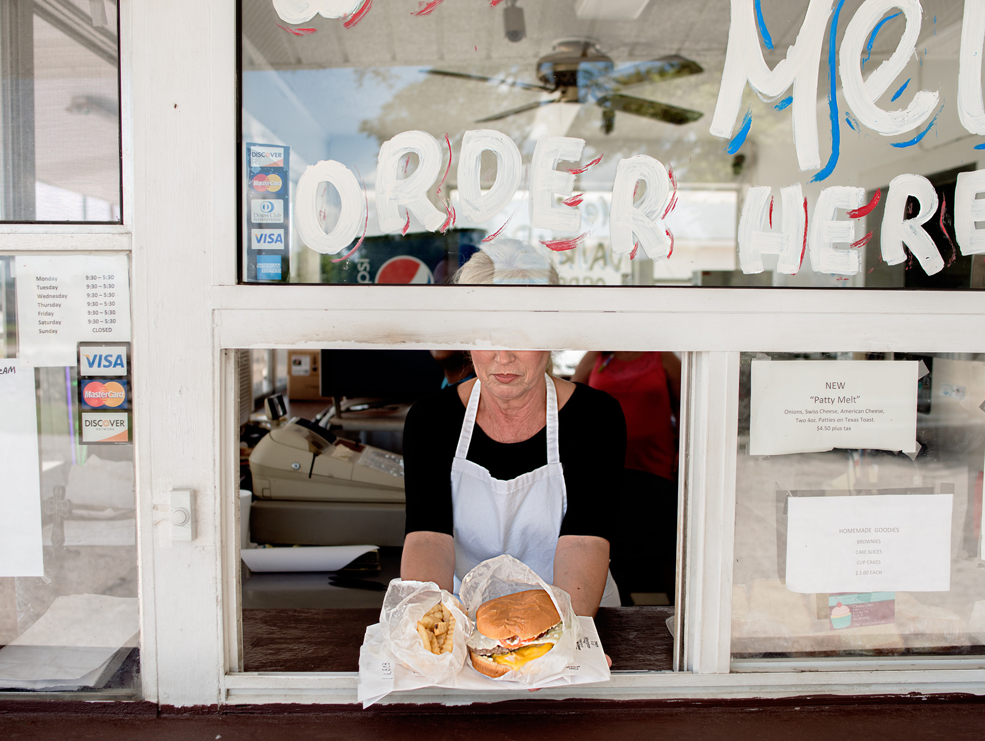 Mel's Dairy Dream,A burger and fry shack THAT sits on the property where Harper Lee's home once stood.