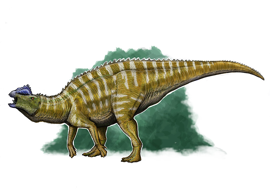 Hypsibema is one of the largest known hadrosaurs from Appalachia, and likely one of the loudest.