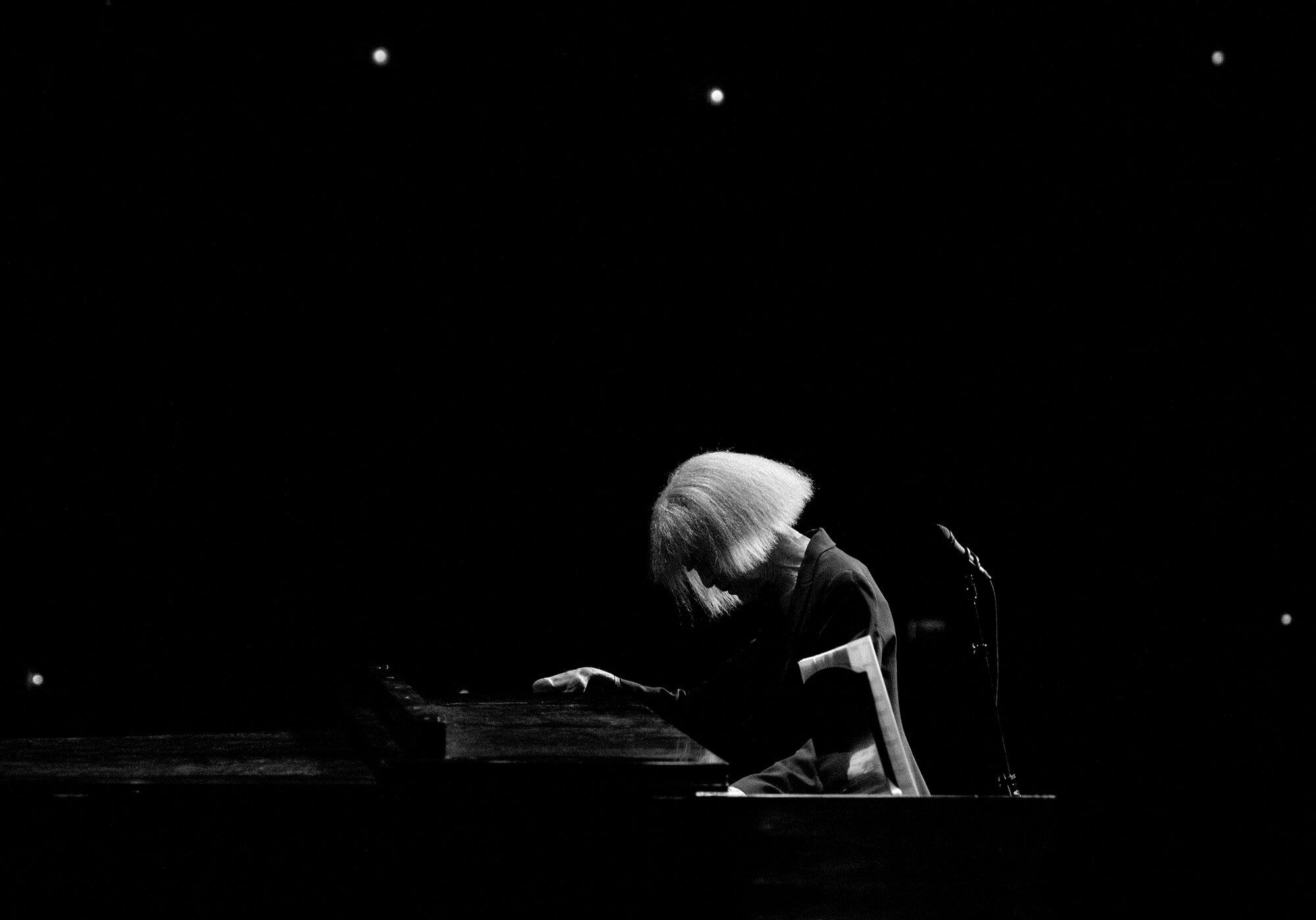 Carla Bley. Photo by Andrew Grasham