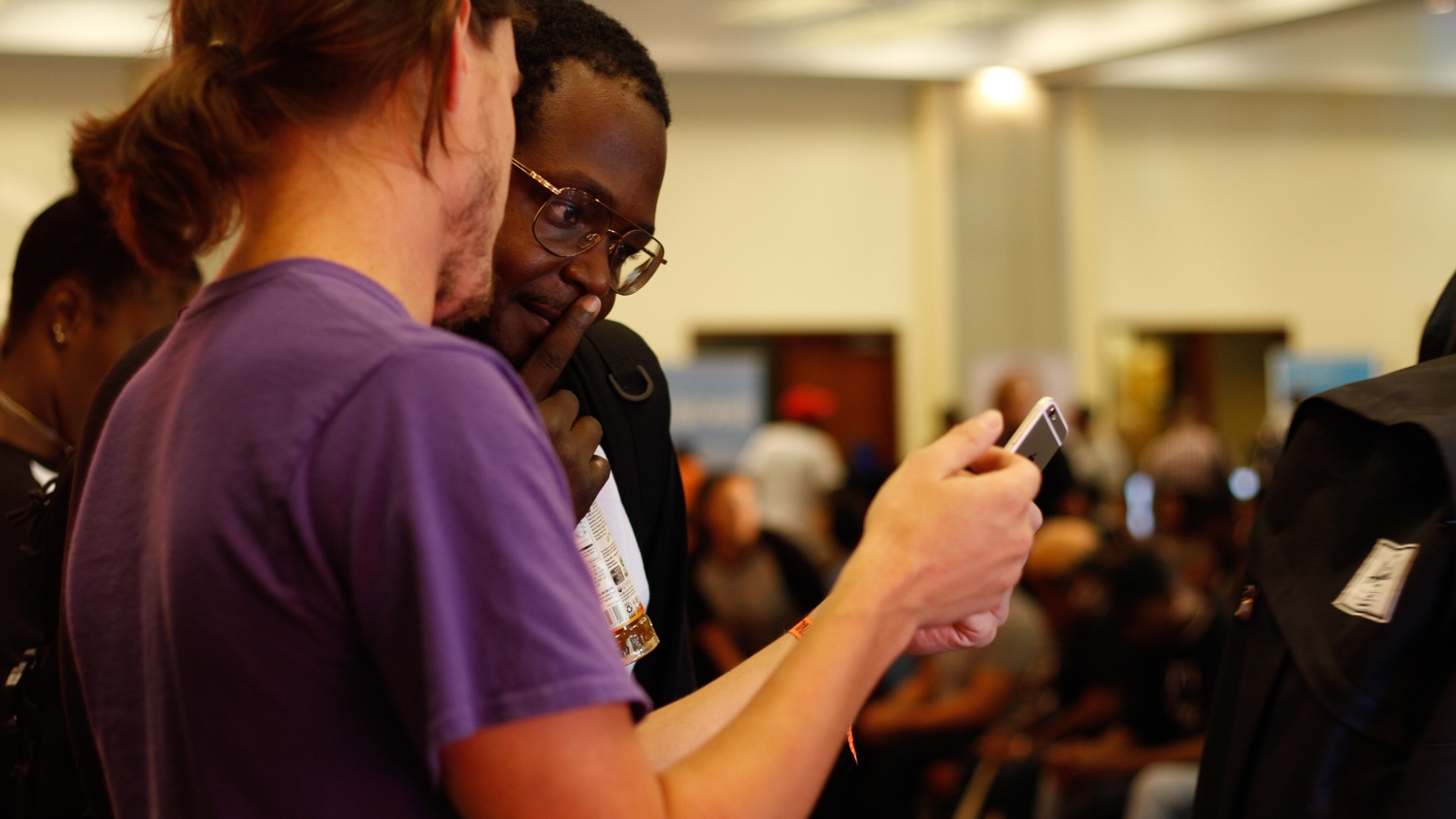 Tech entrepreneurship blends with music at A3C. (Photo by Christina Mallas for A3C)