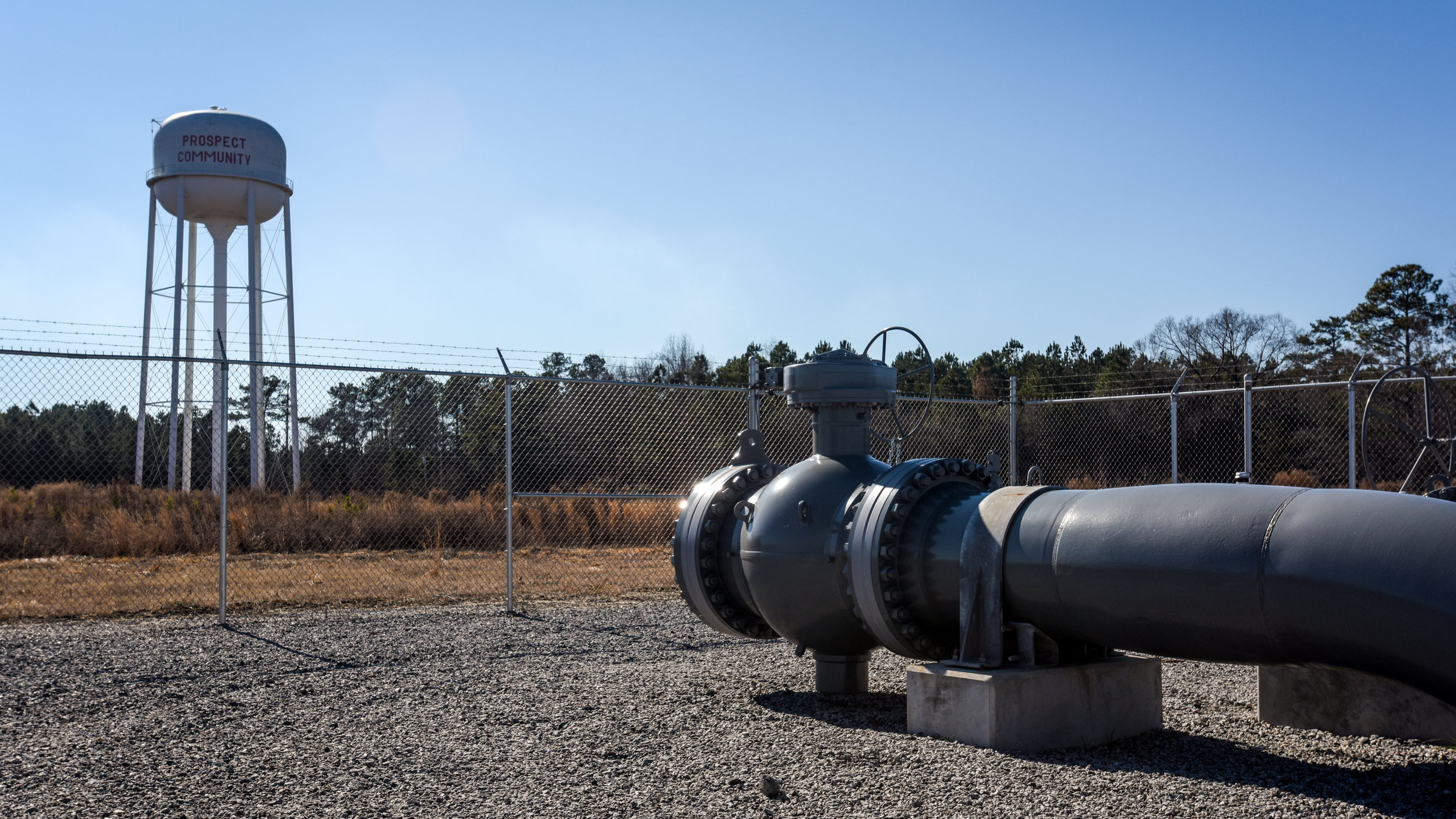 The Atlantic Coast Pipeline would be the third pipeline in the area between Pembroke and Prospect.