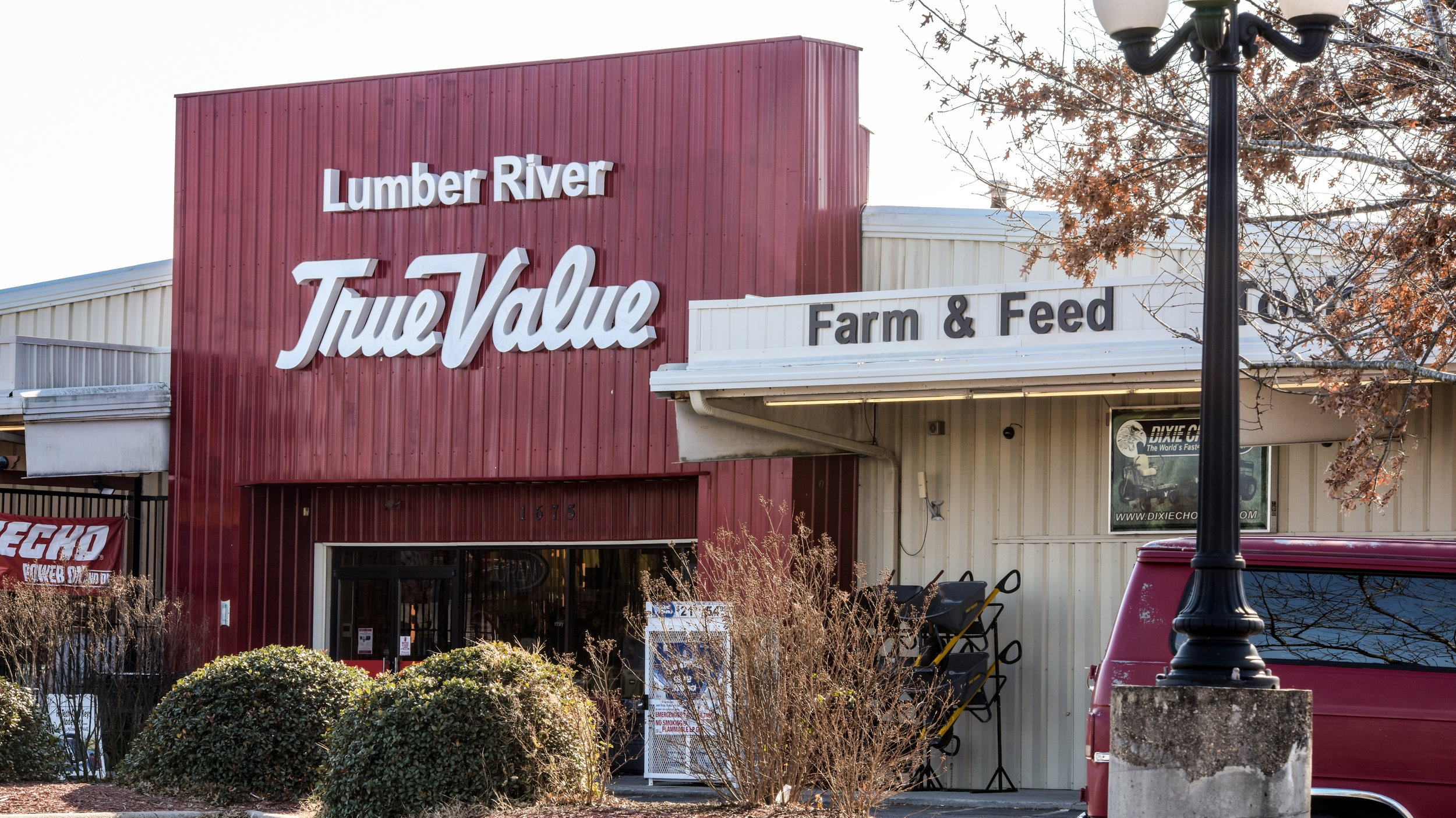 Al Locklear, a lumbee, owns Lumber River Trading/True Value Hardware in Lumberton, the seat of Robeson County. He says the county needs the Atlantic Coast Pipeline to create jobs after the North American Free Trade Agreement took them away.