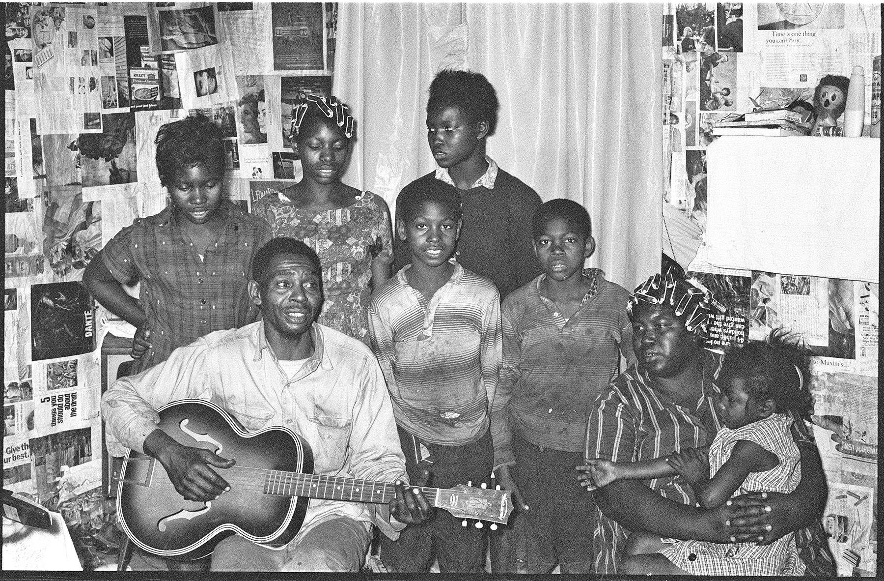 Lovey Williams and his family, 1965..jpg