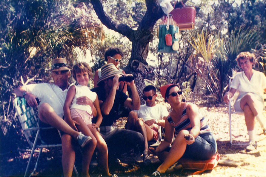 Williams family picnic, 1968, photo courtesy of the williams family