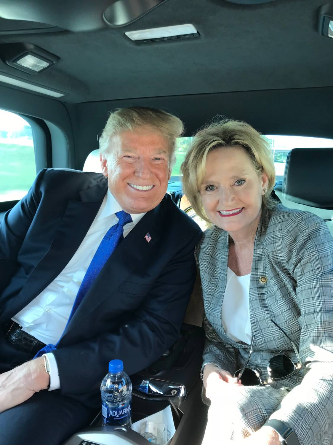Cindy Hyde-Smith with President Donald J. Trump