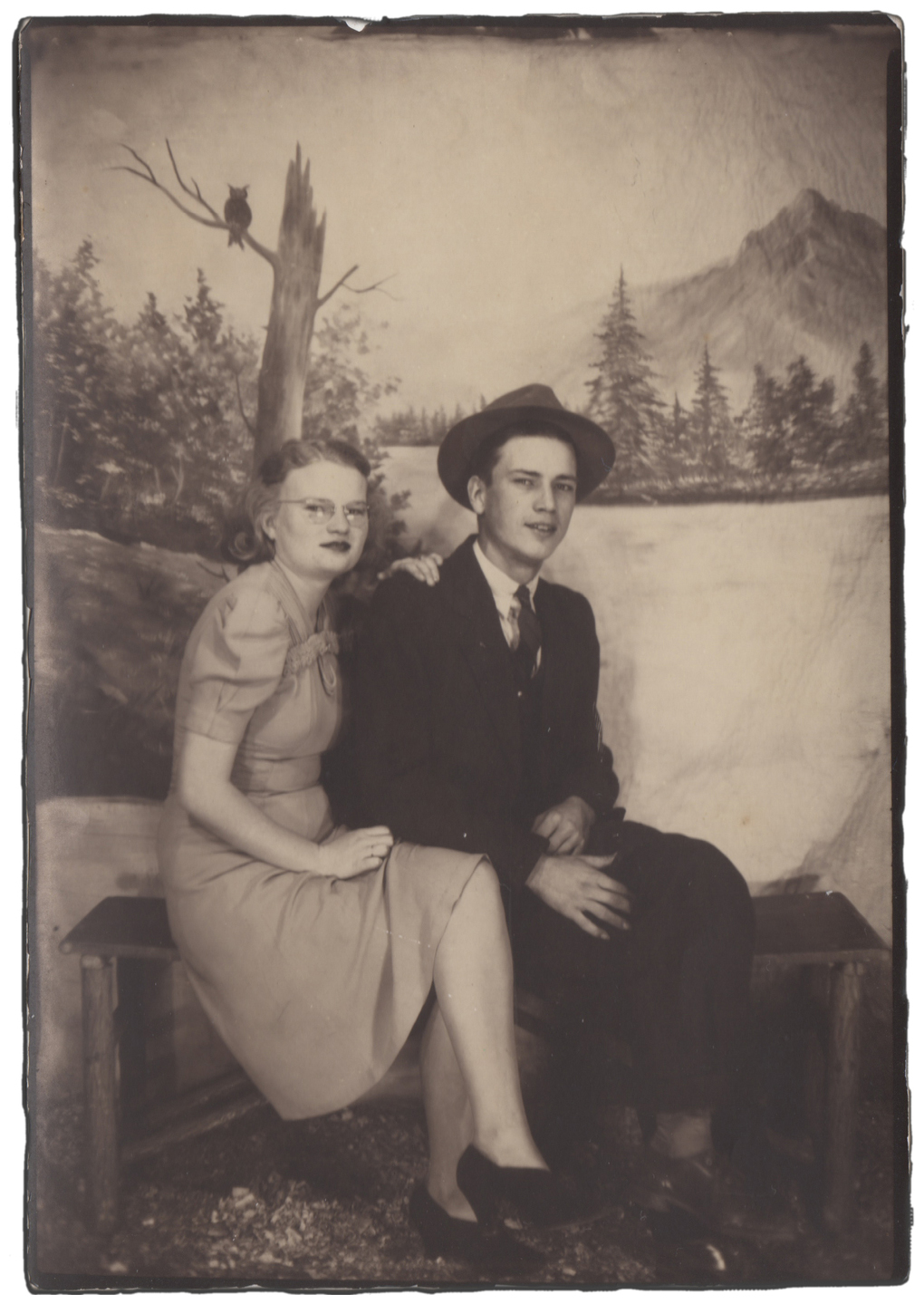 CLARENCE AND FLORA REECE, 1940