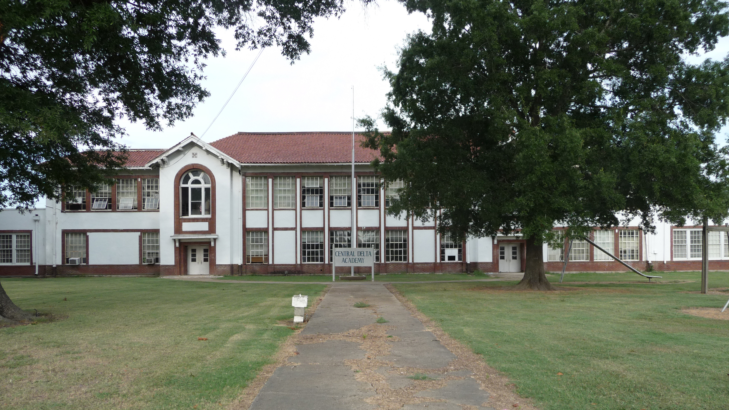 Central Delta Academy in Inverness, Mississippi was a segregation academy