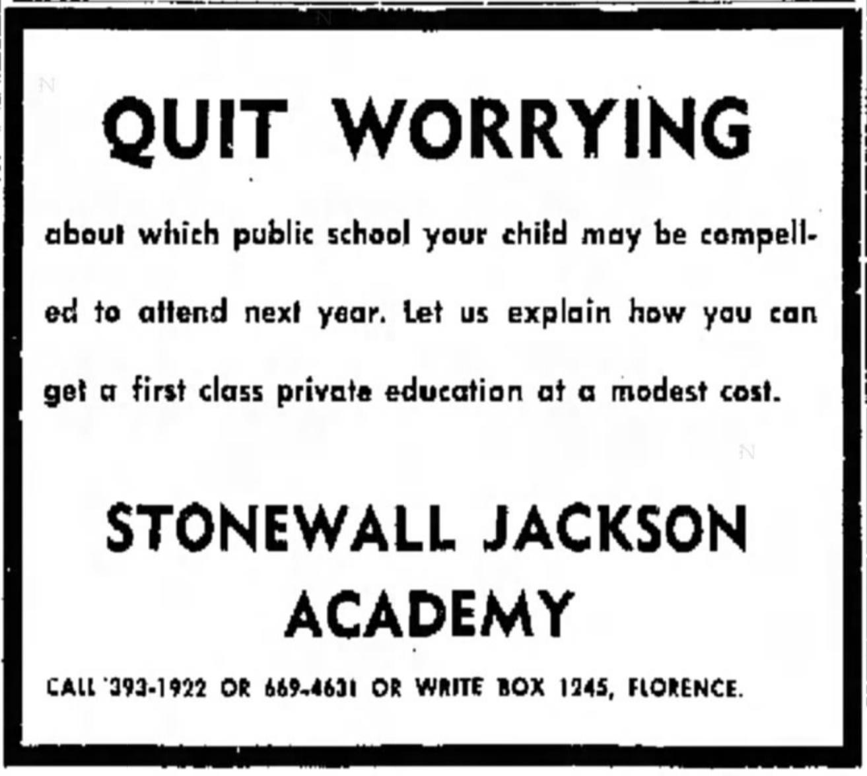 Stonewall_Jackson_Academy_(Florence,_SC)_1970_Advertisement.png