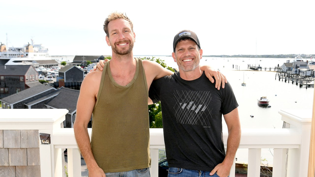 Tyler NILSON [AT LEFT] AND Michael Schwartz