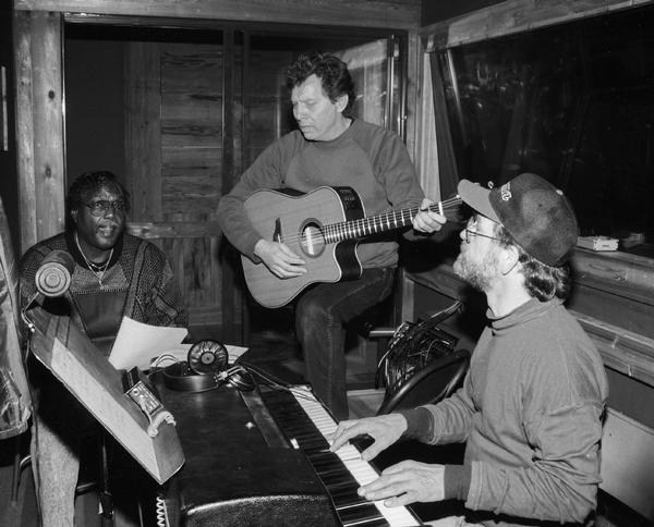 the late arthur alexander, songwriting legend Dan Penn, and Donnie Fritts in the studio.