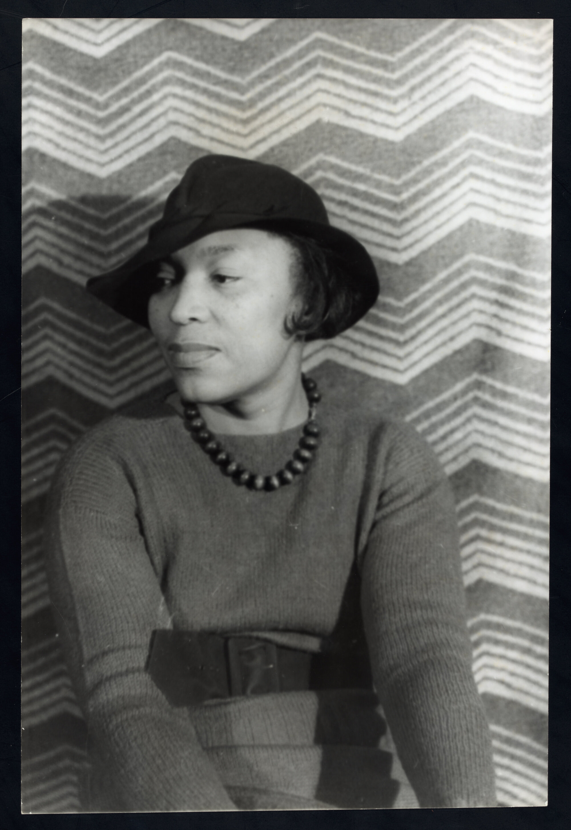Portrait of Zora Neale Hurston by Carl Van Vechten in 1938, Courtesy of the University of Florida