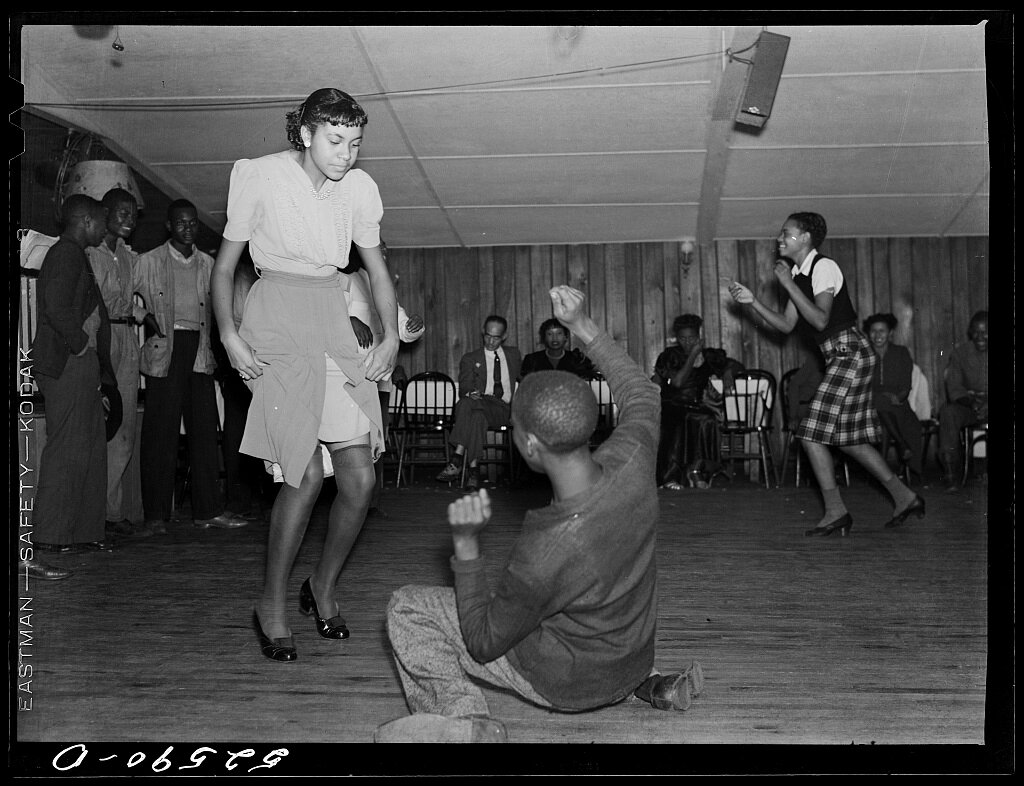 Juke joint jitterbugging in Memphis, Tennessee