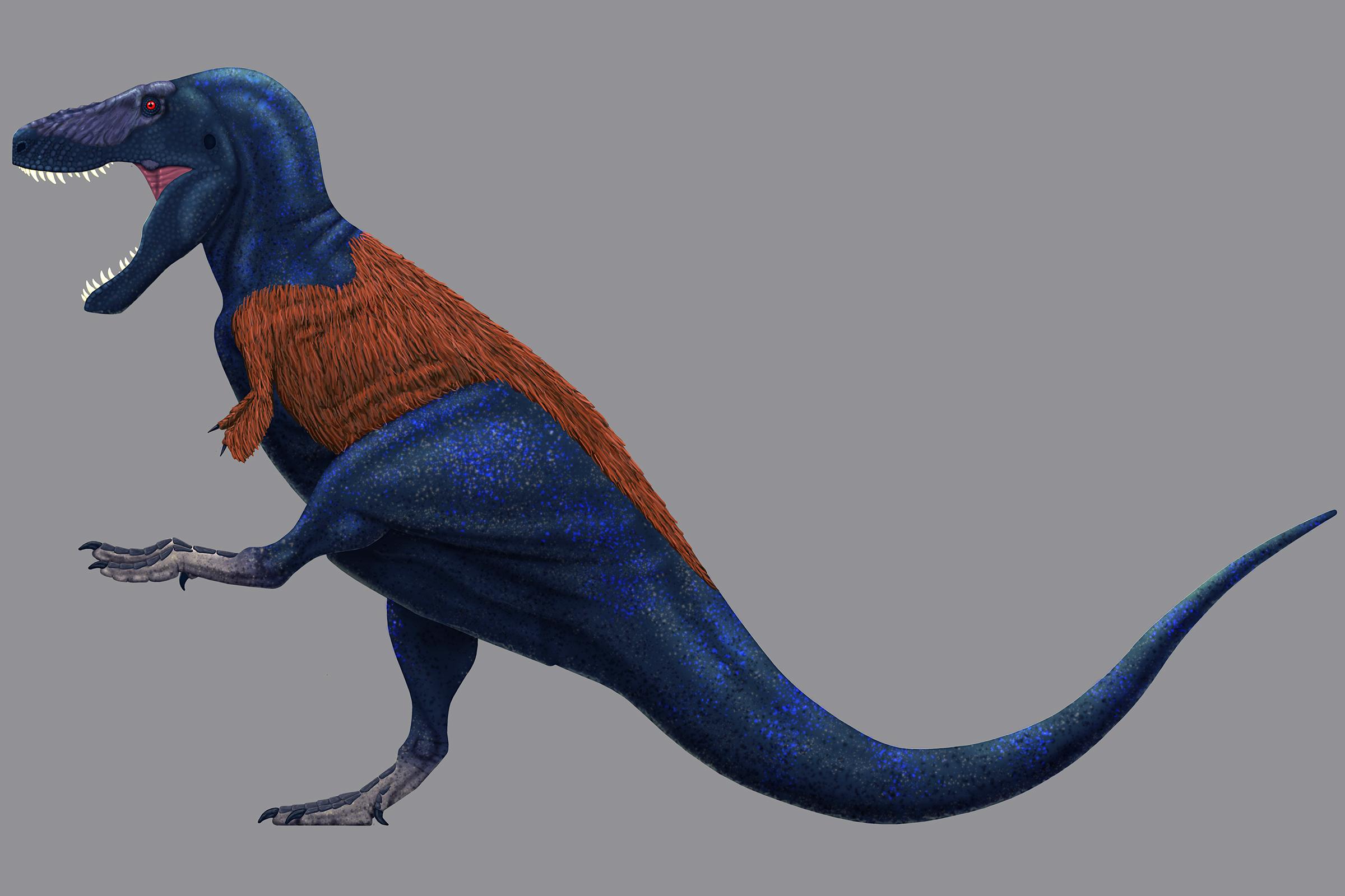 Tyrannosaurus rex painting