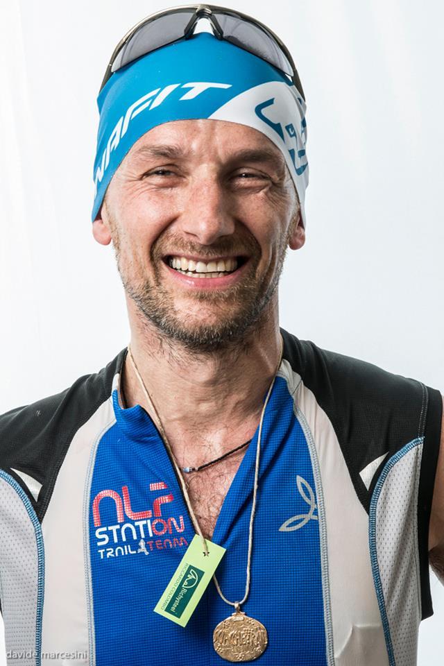 Il vincitore del 2015  MIrko Righele  del Team Alpstation