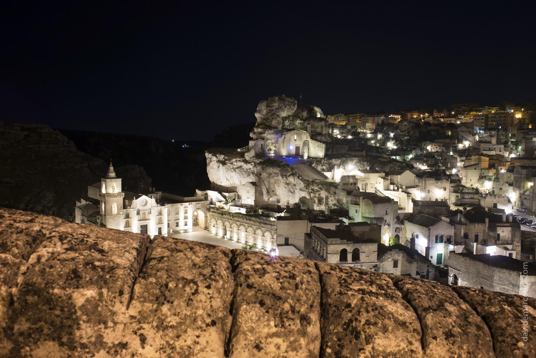 Notturno sulla Madonna dell'Idris