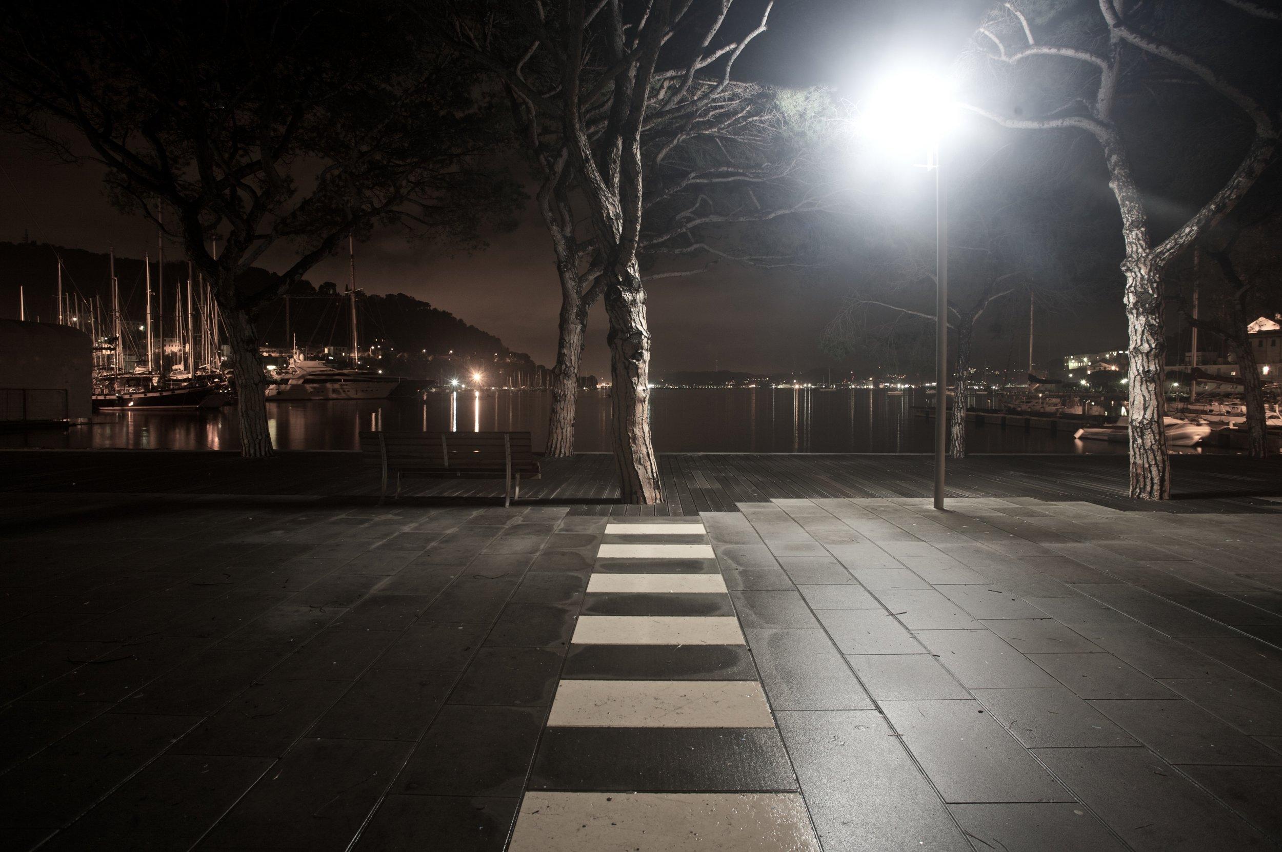 Le Grazie di Portovenere, notturno autunnale