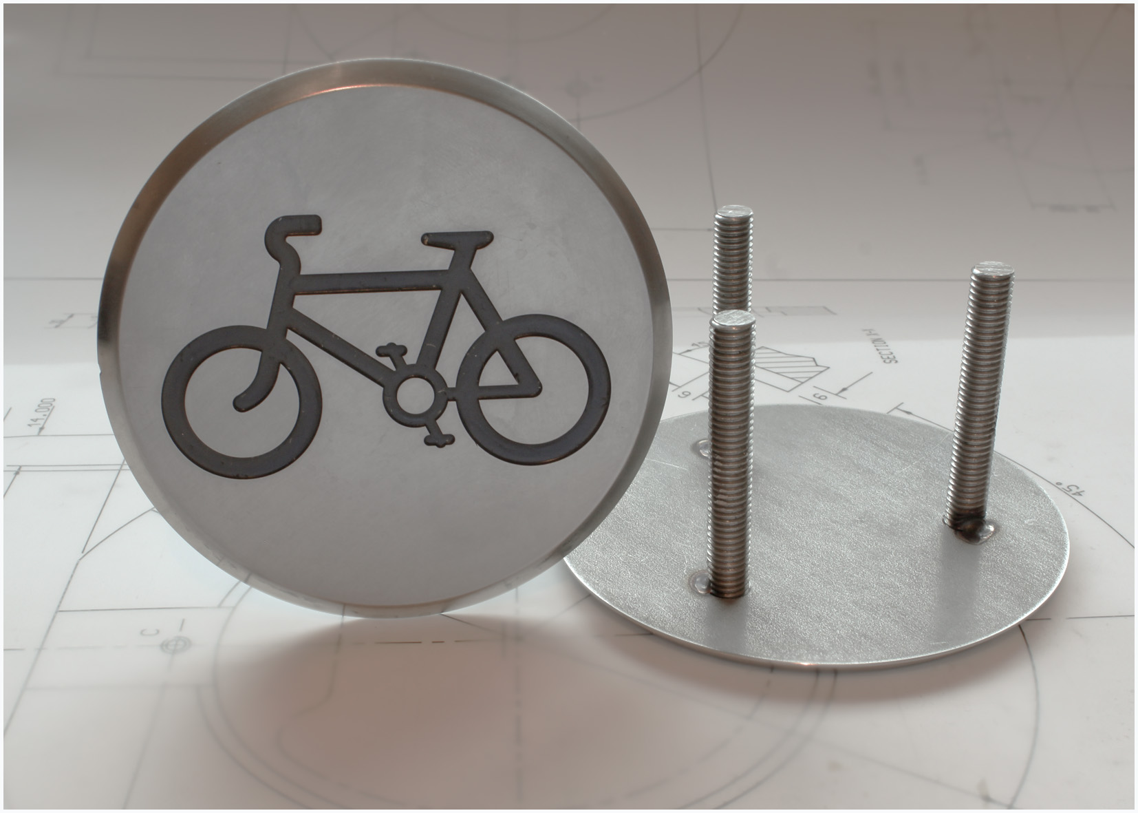 Cycle Way Marker Stud