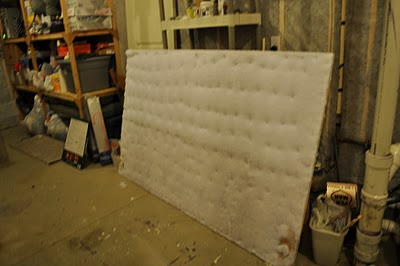 How to Upholster a Headboard Tutorial DIY