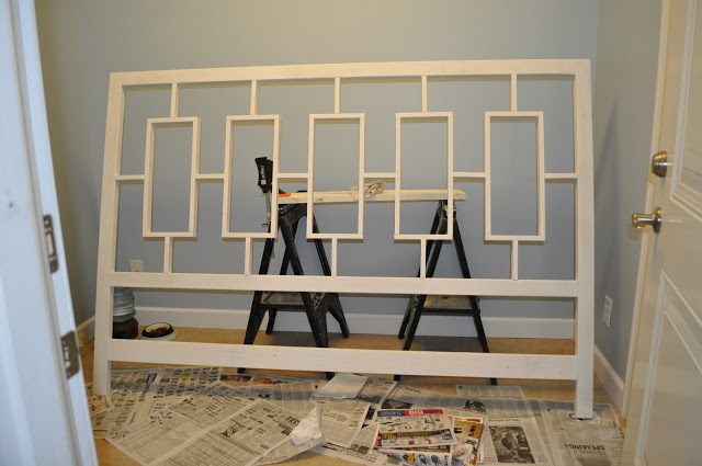 How to build a headboard, DIY, West Elm Inspired, Tutorial