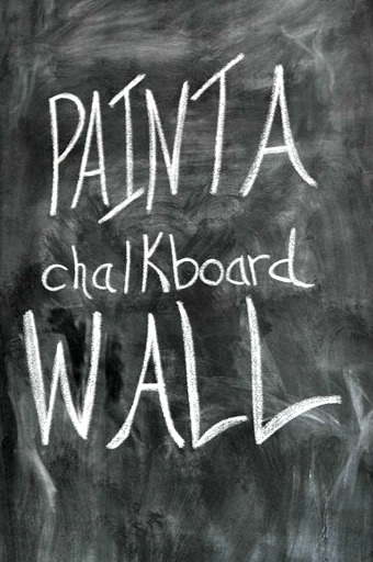 Paint a Chalkboard Wall. How to!.jpg