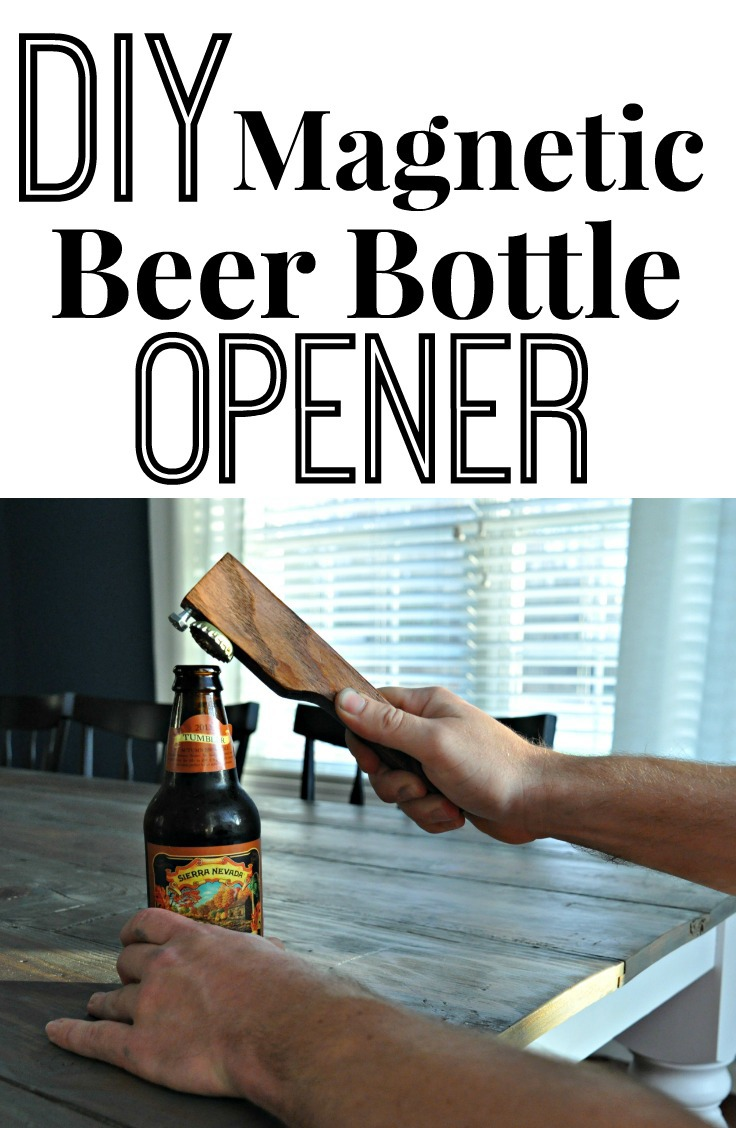 DIY Magnetic Beer Bottle Opener