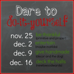 Dare to Do It Yourself Link Party