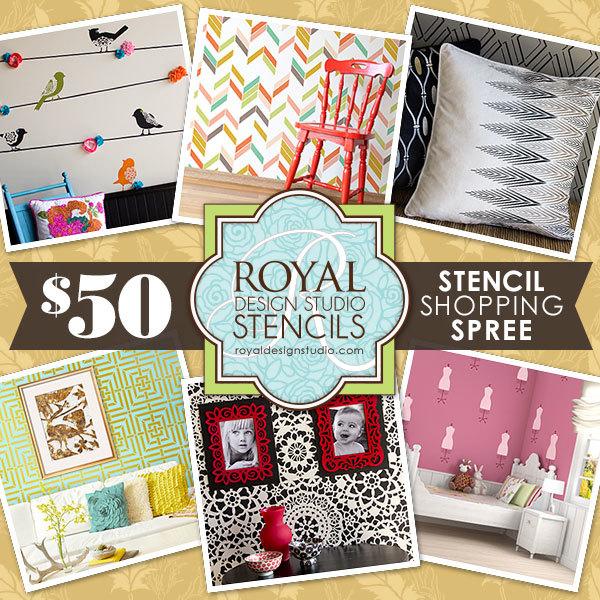 $50 Royal Design Studio Shopping Spree