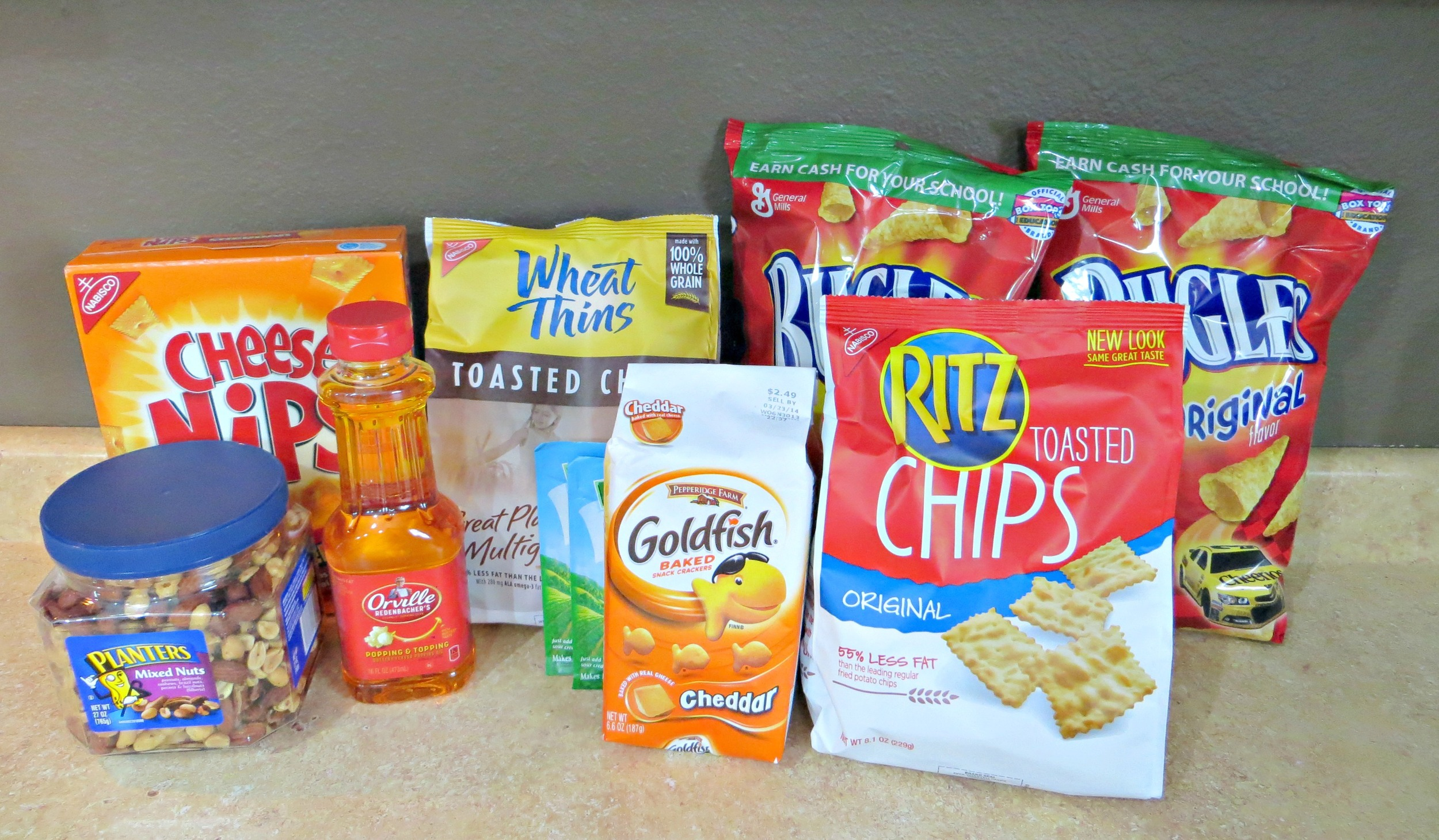 Dolly's Mix: A Party Snack Mix