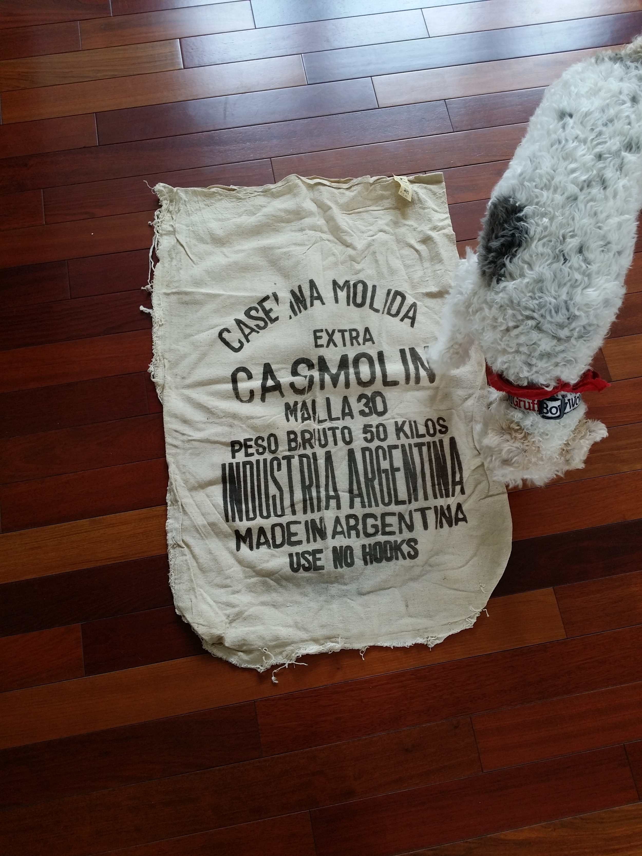 Ad Sack Pillow Tutorial | Decor and the Dog