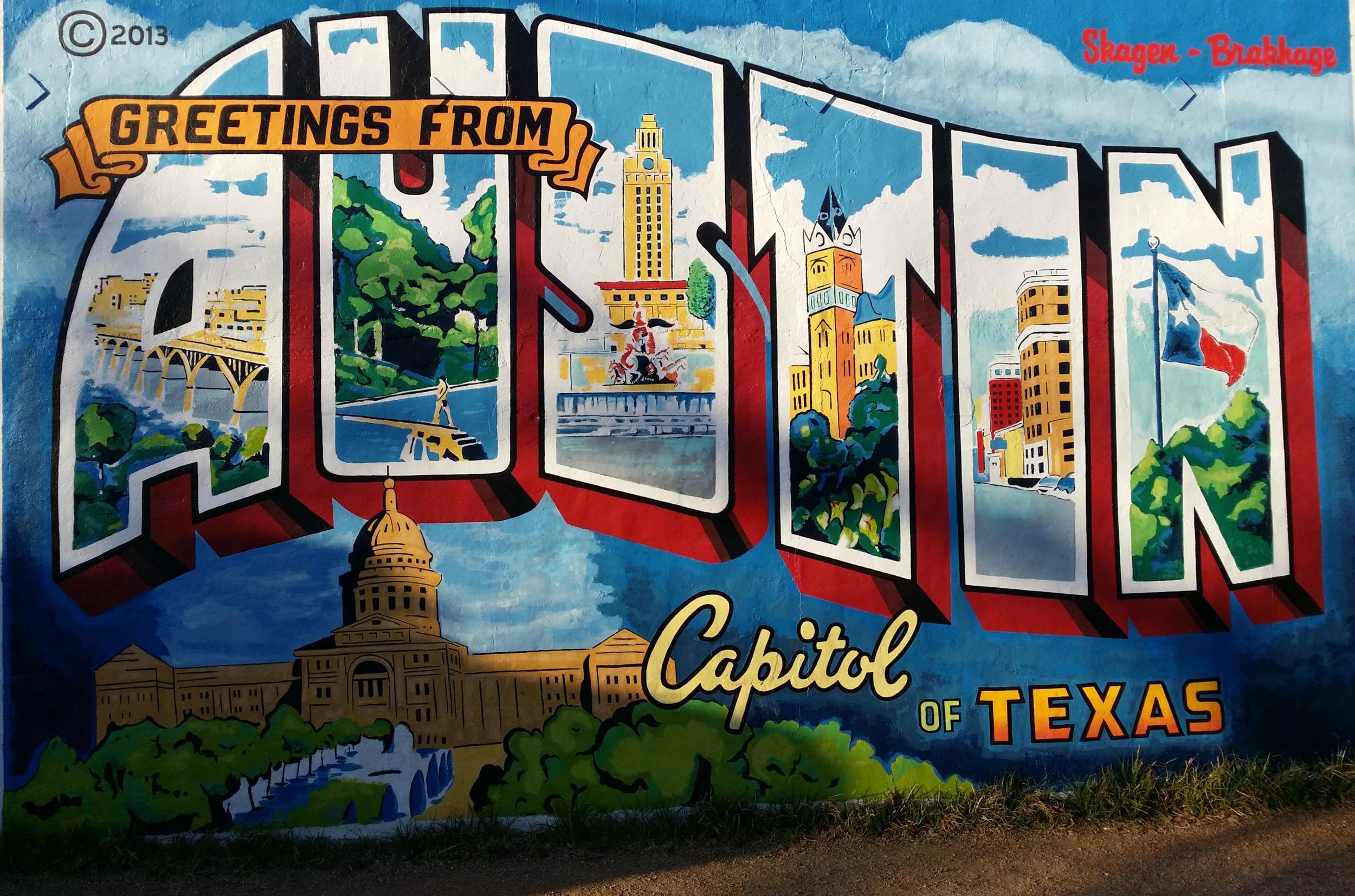Austin Postcard